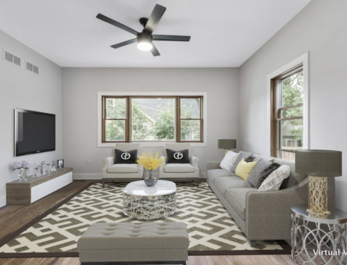 Virtual Staging Transforms This Downers Grove Listing