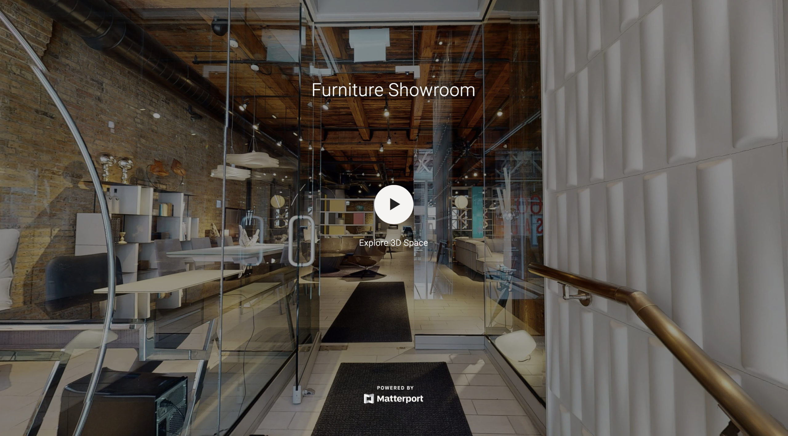 Showroom 3D tour