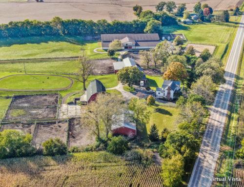Drone Video Of Oswego Horse Farm