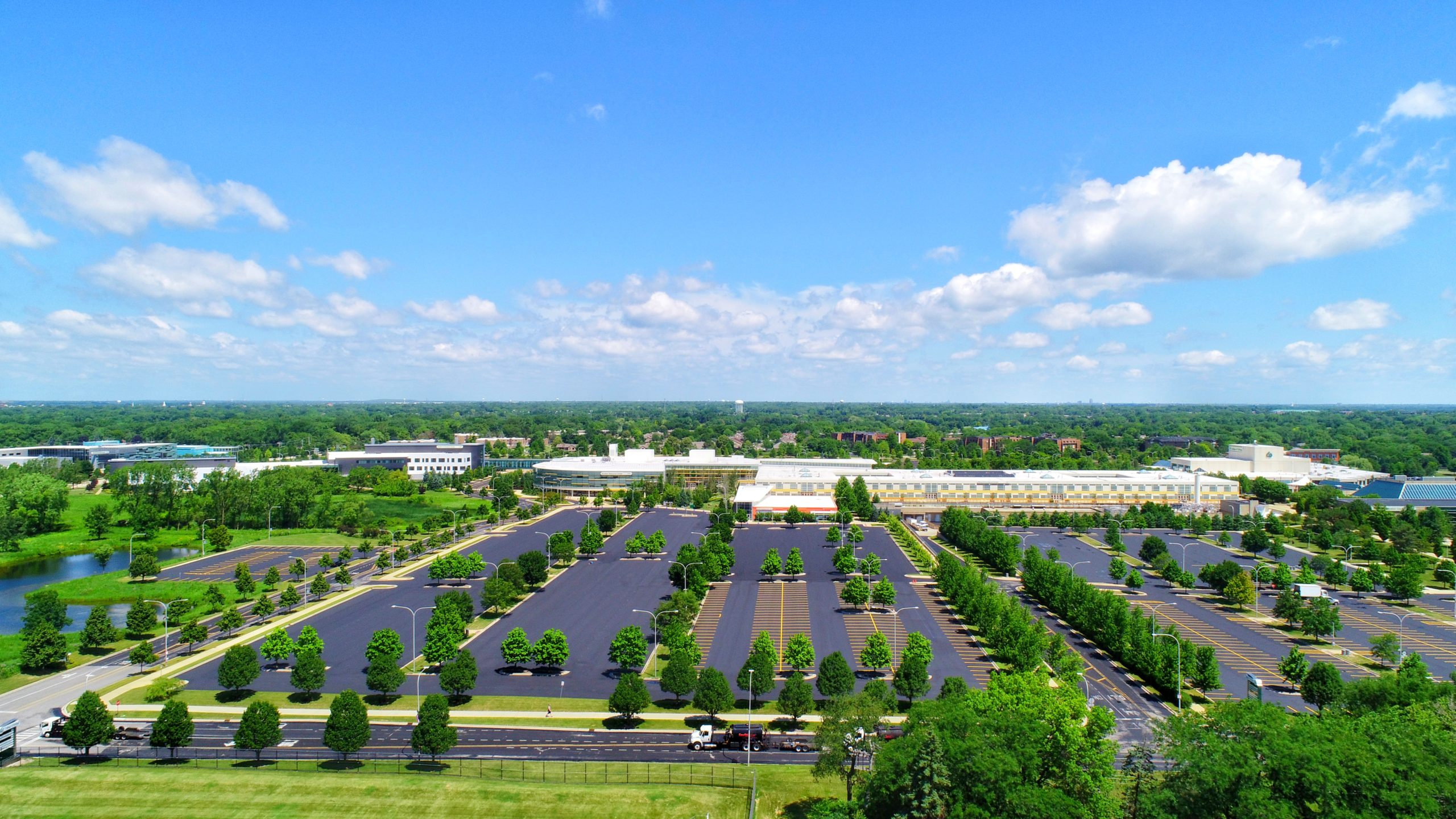 College Of Dupage Parking Lot